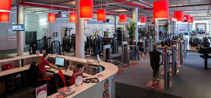 Achtergrond voor de fitness branche