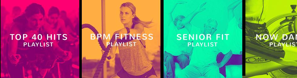 De beste playlists voor de fitness branche