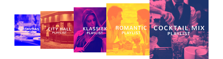 Achtergrondmuziek voor hotels en restaurants